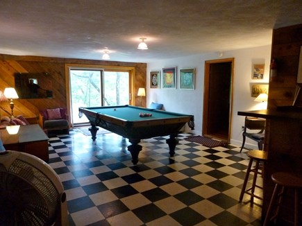 Wellfleet, Duck Pond Area Cape Cod vacation rental - The Billiard Room
