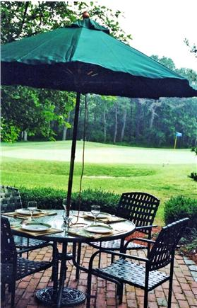 New Seabury New Seabury vacation rental - View from the patio directly overlooking the 12th green