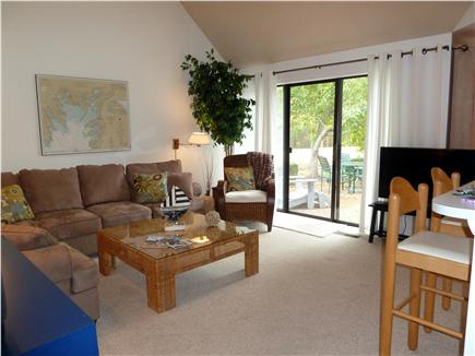 New Seabury New Seabury vacation rental - Living Room with view directly onto the golf course green