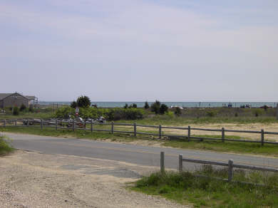 West Dennis Cape Cod vacation rental - View of Beach from front yard