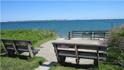 Barnstable Cape Cod vacation rental - Viewing Deck at End of George Street