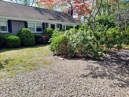 South Chatham Cape Cod vacation rental - Front of Home, Additional Driveway