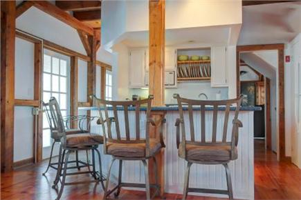 Chatham Cape Cod vacation rental - Modern kitchen with new appliances and island seating for four
