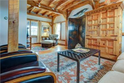 Chatham Cape Cod vacation rental - Large living room with vaulted ceiling and plenty of seating