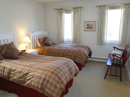 Ocean Edge, Brewster Cape Cod vacation rental - Twin Bedroom upstairs with private bath, adjacent to loft