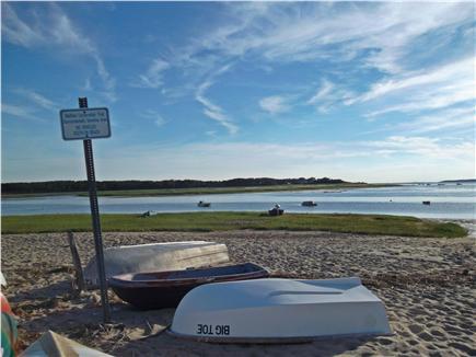 Wellfleet Cape Cod vacation rental - Bay beach, 5-10 minute walk from house