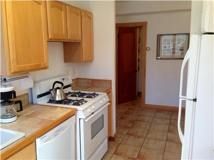 Wellfleet Cape Cod vacation rental - Large fully equipped galley kitchen with pass-through to dining