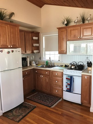 West Yarmouth, MA  Cape Cod Cape Cod vacation rental - Kitchenette- Fully stocked with Refrigerator, Stove & Microwave.