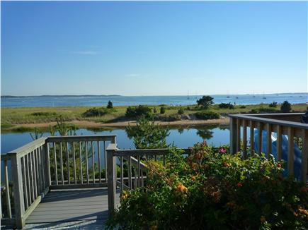 West Yarmouth, MA  Cape Cod Cape Cod vacation rental - The waterfront view from a brick walkway.