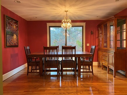 Truro Cape Cod vacation rental - Spacious Dining Room w/ Woodland View