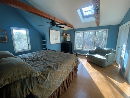 Truro Cape Cod vacation rental - Grande 2nd Fl. Master Suite w/ Skylights & comfy King Size bed