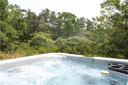Truro Cape Cod vacation rental - Large Hot Tub in Woodland Setting