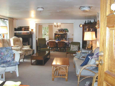 Pocasset Pocasset vacation rental - Comfortably Furnished Living Room opens to Dining