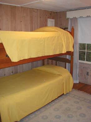 Pocasset Pocasset vacation rental - Bedroom with Bunk Beds