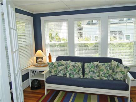 Chatham Cape Cod vacation rental - Sun room w/ Chatham breezes off of living room, bright and sunny