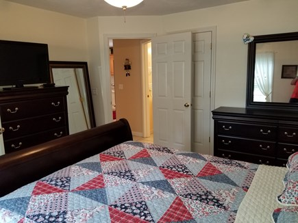 Brewster Cape Cod vacation rental - Downstairs Master Bedroom