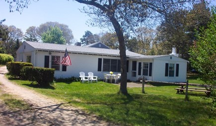 West Harwich Cape Cod vacation rental - House as seen from quiet street