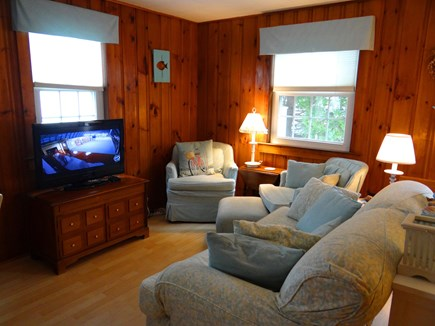 Dennis Port, Sea St Beach Area Cape Cod vacation rental - Living area is part of an airy open floor plan