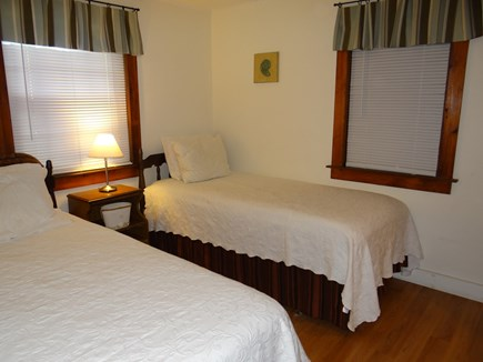 Dennis Port, Sea St Beach Area Cape Cod vacation rental - Bedroom #1 Two Single/Twin Beds