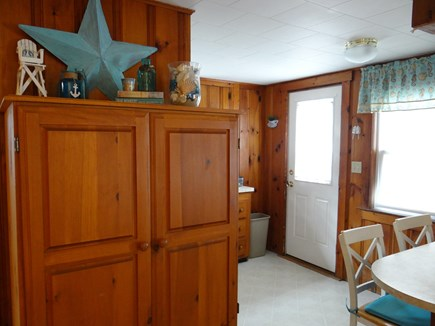 Dennis Port, Sea St Beach Area Cape Cod vacation rental - Full Kitchen -  Full Size Fridge with Freezer
