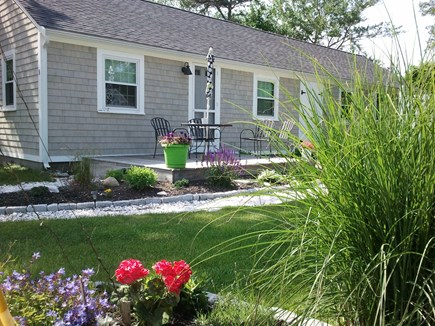 Dennis Port, Sea St Beach Area Cape Cod vacation rental - Enjoy your morning coffee or an after the beach BBQ on the deck