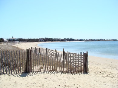 West Yarmouth Cape Cod vacation rental - Private Beach view to the left