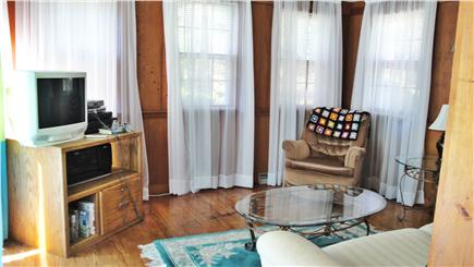 West Yarmouth Cape Cod vacation rental - Sunroom with pullout couch