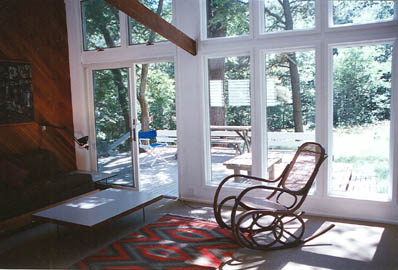 South Truro-Wellfleet line Cape Cod vacation rental - Living Room