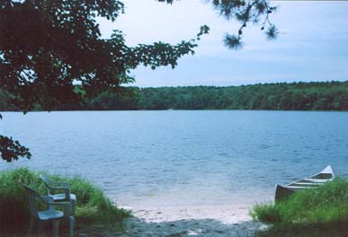 South Truro-Wellfleet line Cape Cod vacation rental - Private Pond Beach