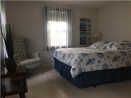 South Yarmouth Cape Cod vacation rental - Master bedroom with queen bed and sitting area. All new beds