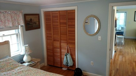 Mashpee, Popponesset Cape Cod vacation rental - Master bedroom/closet and entrance