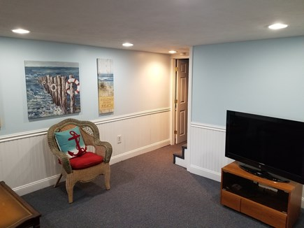 Mashpee, Popponesset Cape Cod vacation rental - Downstairs TV area