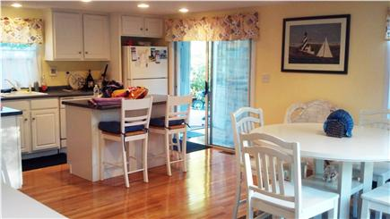 Mashpee, Popponesset Cape Cod vacation rental - Kitchen area next to attached room