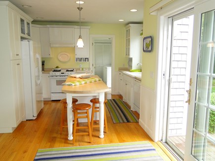 New Seabury/(Popponesset) New Seabury vacation rental - Kitchen with sliders to patio
