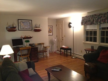 Hyannis Cape Cod vacation rental - Living Room Inner Angle