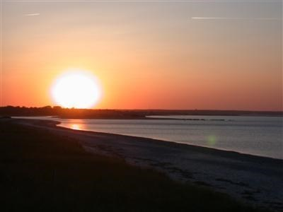 East Sandwich Cape Cod vacation rental - Beautiful Sunsets seen from deck!!