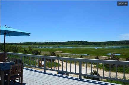 East Sandwich Cape Cod vacation rental - View of the Marsh from 2nd Deck