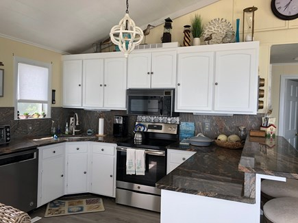 East Sandwich Cape Cod vacation rental - Kitchen with brand new appliances