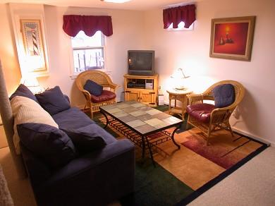 East Sandwich Cape Cod vacation rental - Den Area