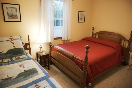 Brewster Cape Cod vacation rental - Full size and single beds