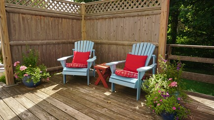 Brewster Cape Cod vacation rental - Secluded area for quiet reading and reflection.