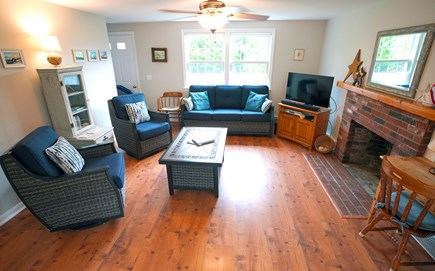 Brewster Cape Cod vacation rental - Spacious living area - Mini Split AC/Heating throughout the home.