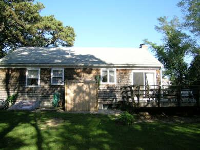 Brewster Cape Cod vacation rental - Private backyard - custom shower