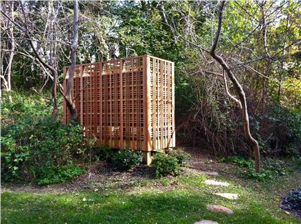 Wellfleet Cape Cod vacation rental - Free-standing outdoor shower