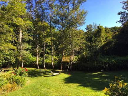 Wellfleet Village Cape Cod vacation rental - Park-like setting with treehouse (adult supervision suggested)