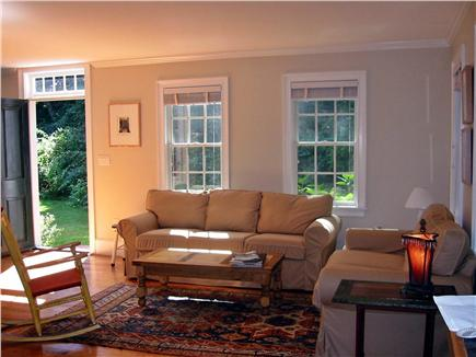 Wellfleet Village Cape Cod vacation rental - Living room