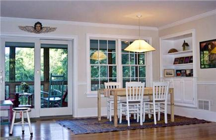 Wellfleet Village Cape Cod vacation rental - Dining room - table extends
