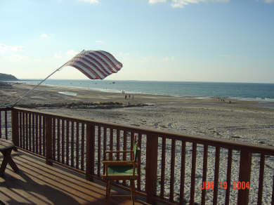 Plymouth  (White Horse Beach) MA vacation rental - Deck