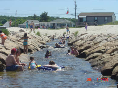 Plymouth  (White Horse Beach) MA vacation rental - Just steps away!