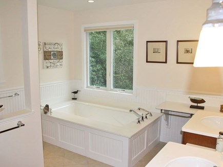 Chatham Cape Cod vacation rental - Master bathroom with tub & shower (not shown)